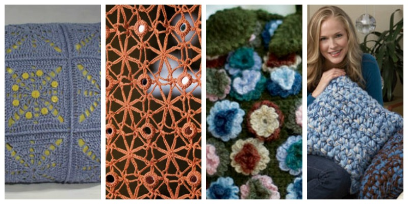 Free EBook 4 Crochet Home Decor Patterns