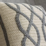 A Twist On Crocheted Cables