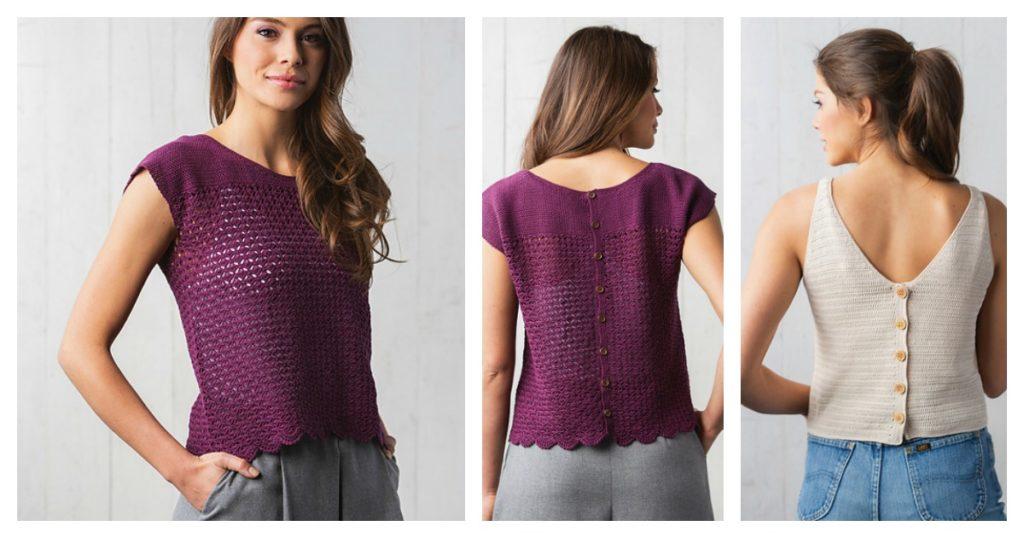 crochet buttonhole
