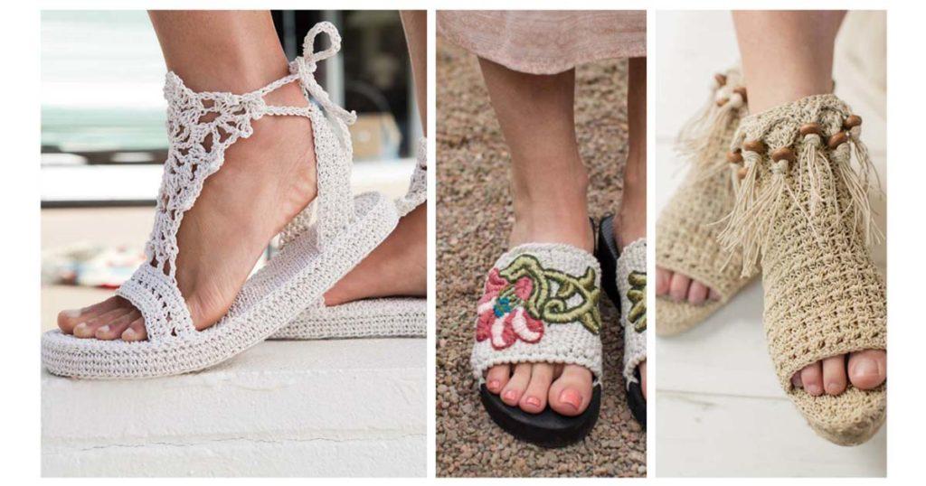 3d729674223da Crochet Shoes for Summer! | Interweave