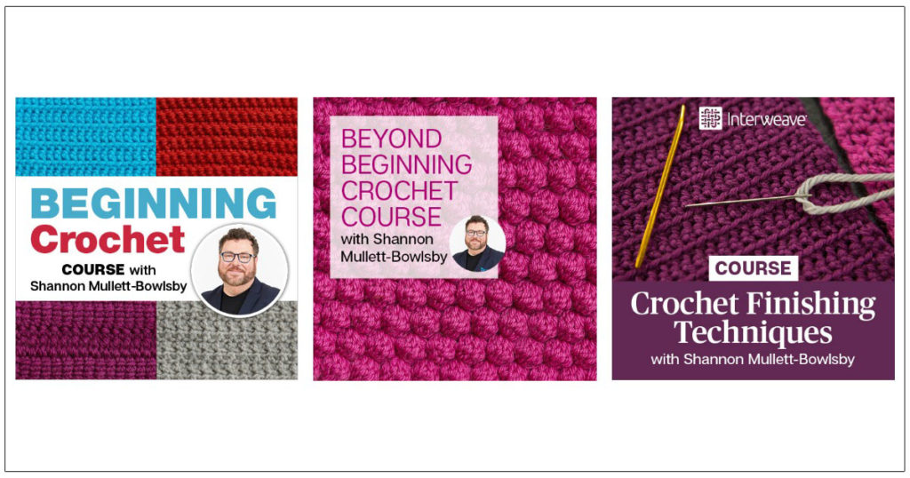 "Crossing the ""Finish"" Line in a Crochet Trifecta"
