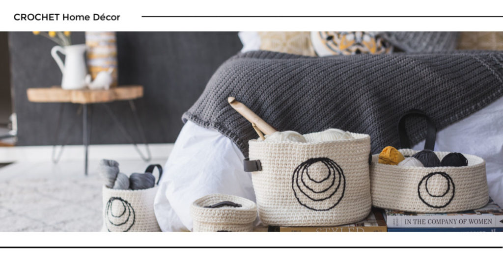 Crochet Home Décor Patterns for that Hygge Feel!