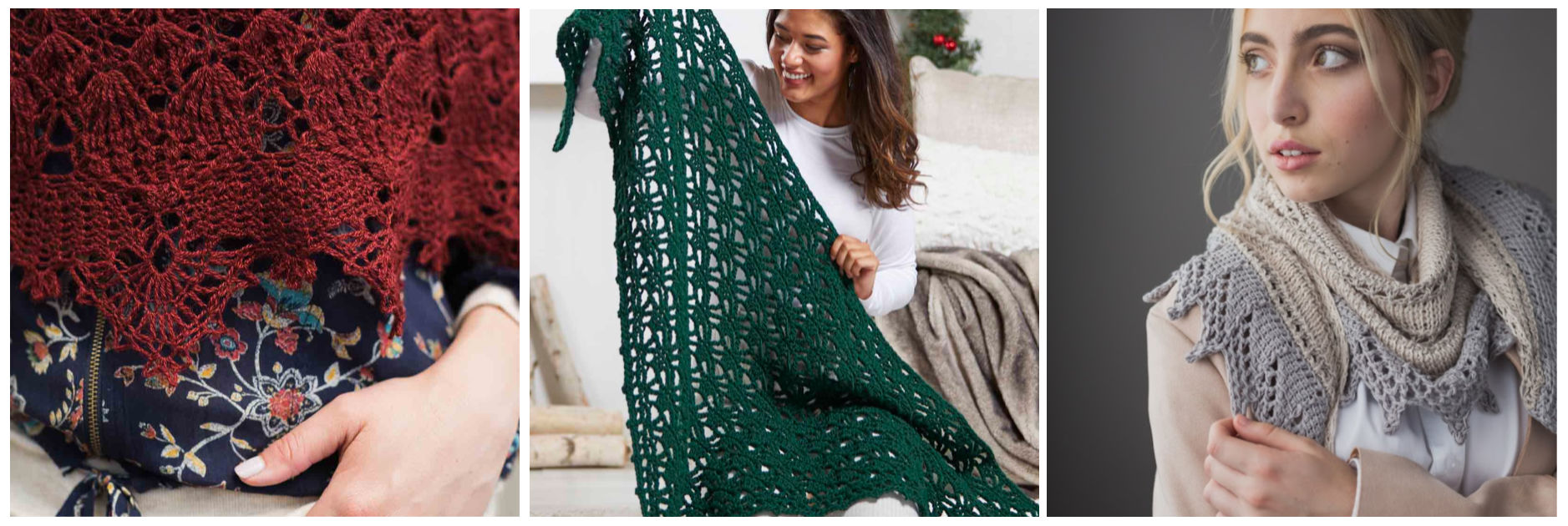 crochet shawls wraps shawlettes