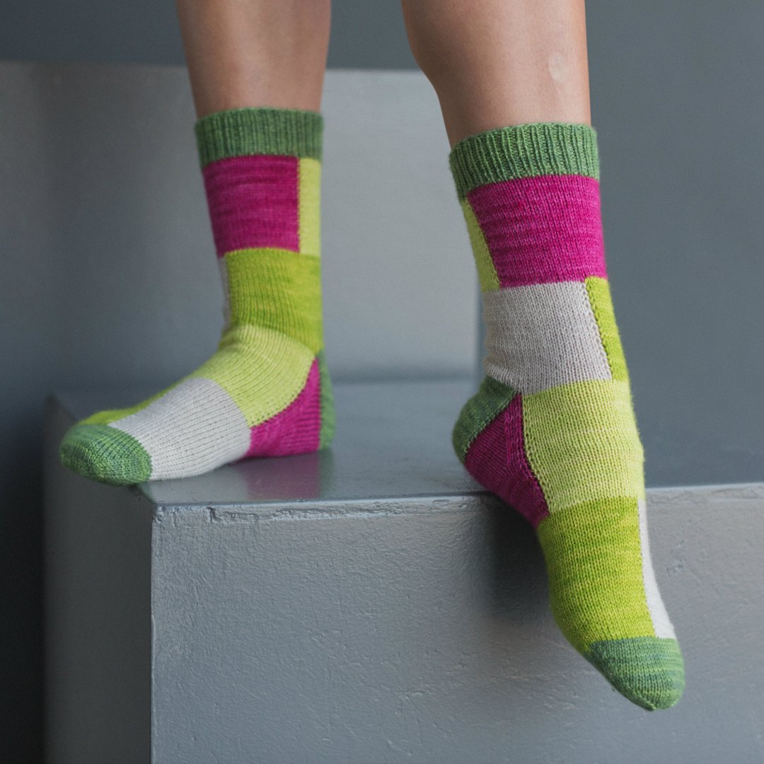 Cube Socks | Photo by Harper Point Photography
