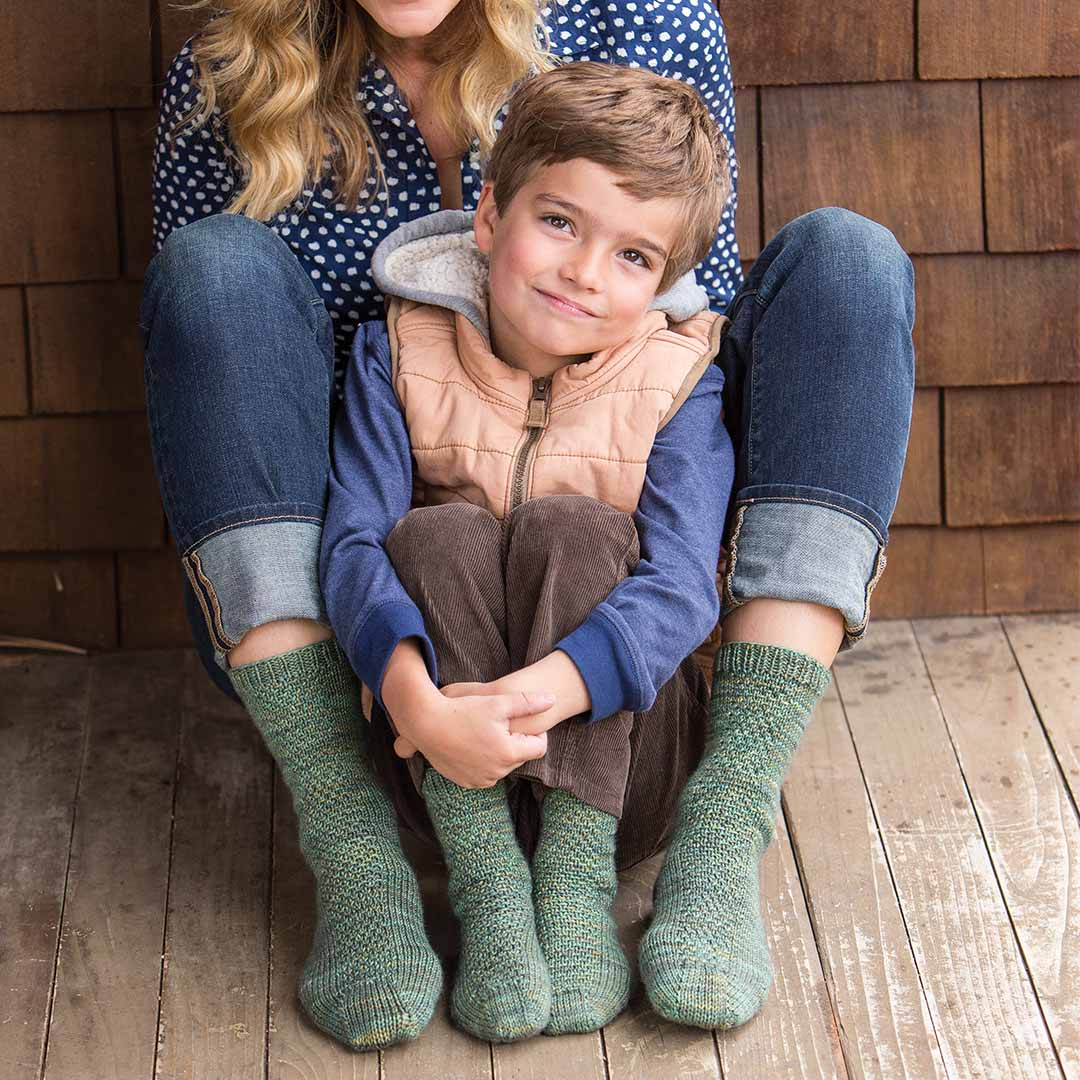 Just look how happy that kid looks in his socks. Also if you're wondering, yes, that is the kid from Fuller House. © F+W Media, Inc. by Joe Hancock