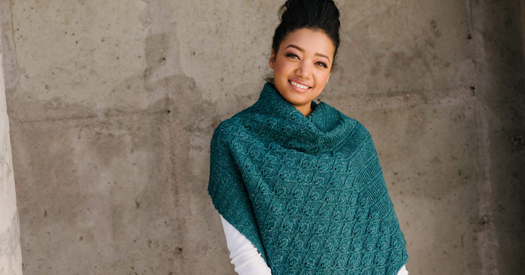 Going with the Flow: The Currents Shawl