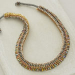 Bead Experiment: The Best Way to Stitch Cubic Right-Angle Weave