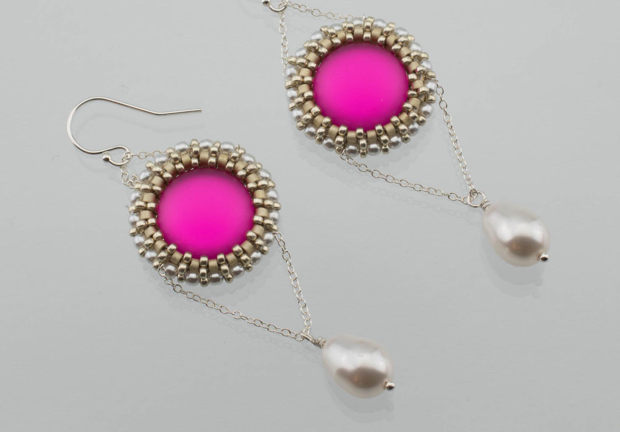 Luna Cab Earrings by Diane Dennis