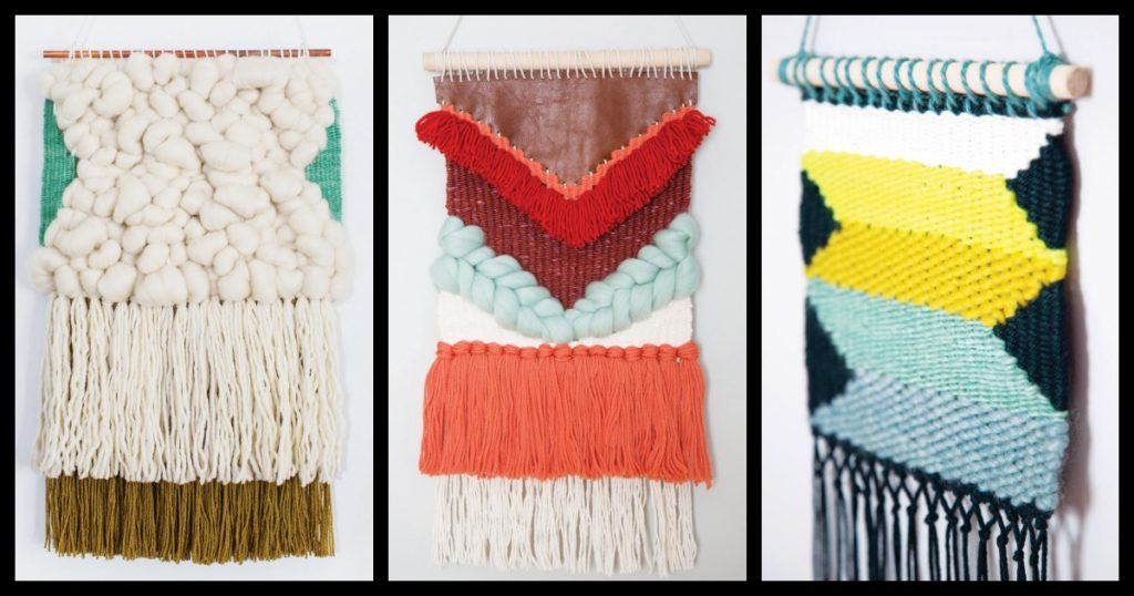 Fill Your Home with DIY Woven Art