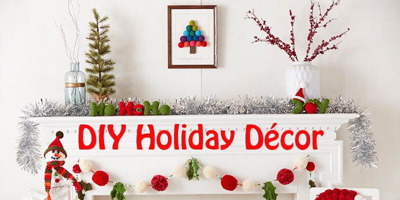 WWDD: 10 Yarn DIY Christmas Decorations