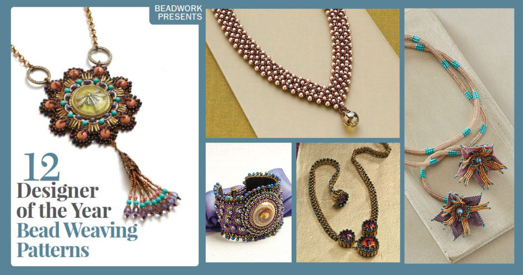 bead weaving projects from Beadwork designers of the year