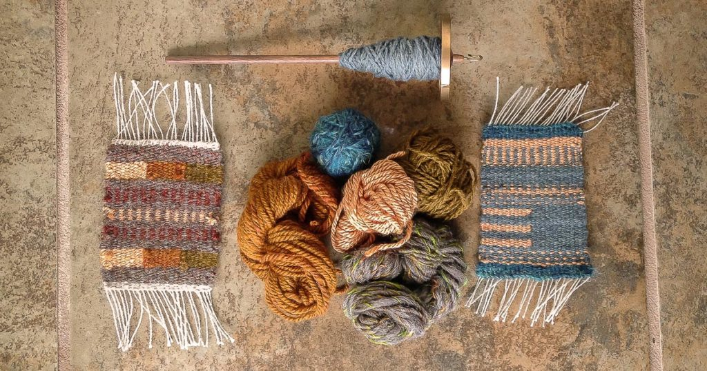 Weaving Loose Ends of Handspun