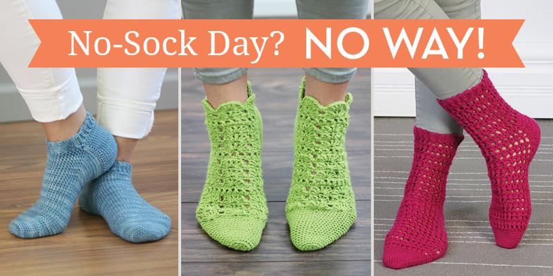 No Sock Day—No Way!