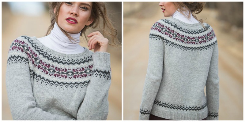 improve your knitting with the dawson city pullover