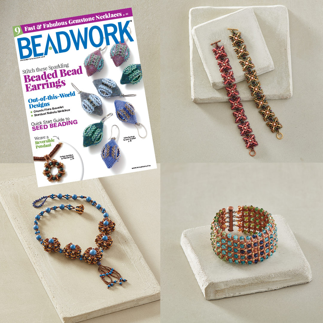Dec 2018/January 2019 Beadwork collection