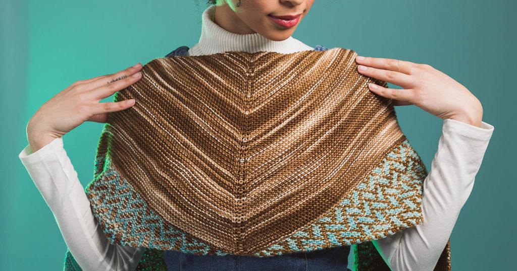 Pattern of the Week: Deep Sea Wrap