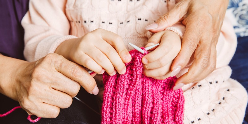 How 6 Knitting Designers Learned to Knit