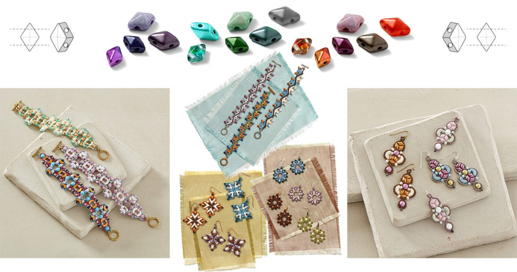 shaped beads projects
