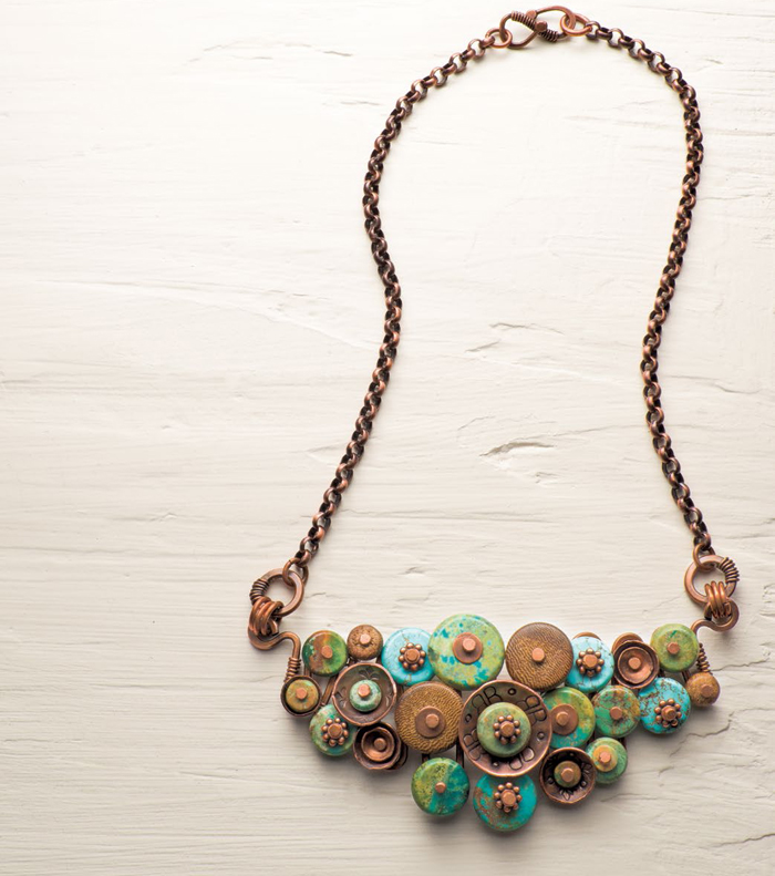 Learn how to make a beaded pendant necklace in our free necklace-making eBook.