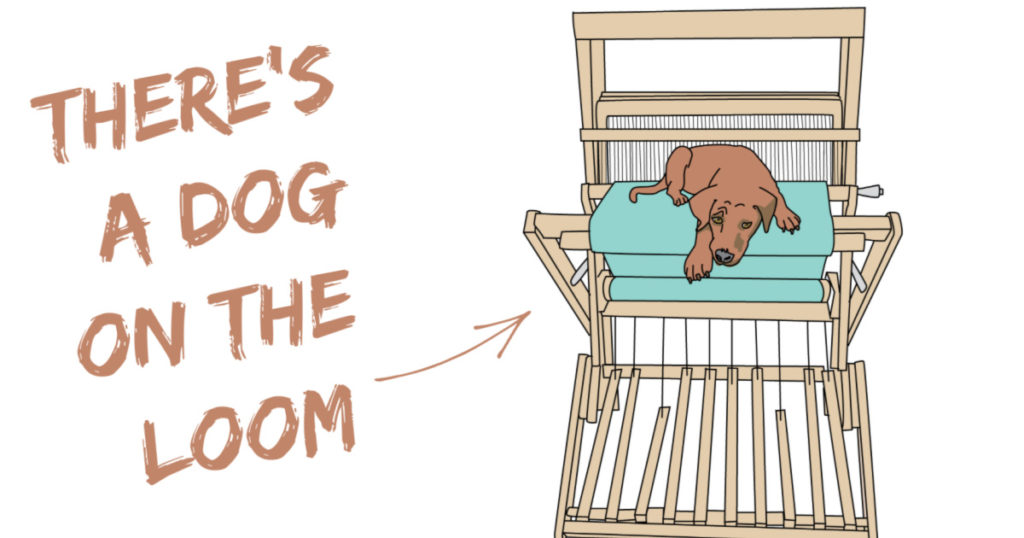 Take the Dog on the Loom for a Walk