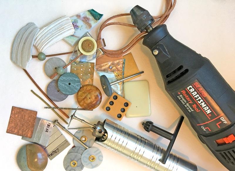 Helen Driggs metalsmithing rotary tool Dremel advanced cllass
