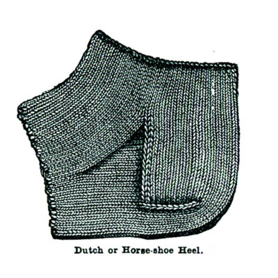 French Heels Versus Dutch: Dutch heel