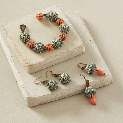 Ocean Flowers Bracelet