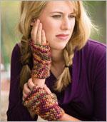 crochet mittems