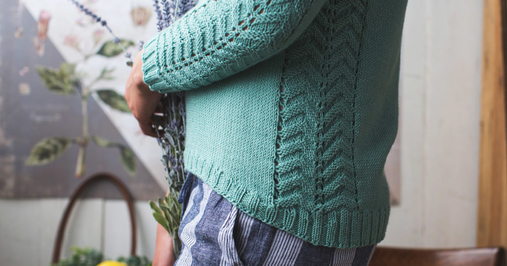 Pattern of the Week: The Eucalyptus Pullover