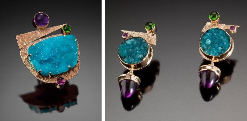 gemstone jewelry by Eileen Quinn DelDuca