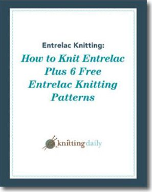Learn everything you need to know about entrelac knitting and how to knit entrelac in this free guide.