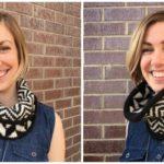 Amaranto Scarf: Garter Stitch Knitting on the Bias