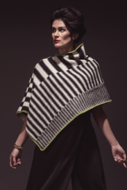 knit poncho pattern