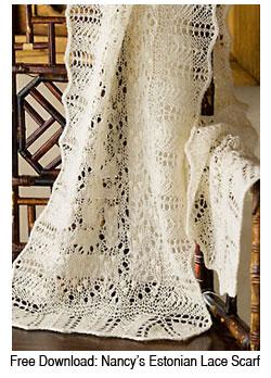 Nancy Bush Shares Her Passion For Estonian Lace Interweave