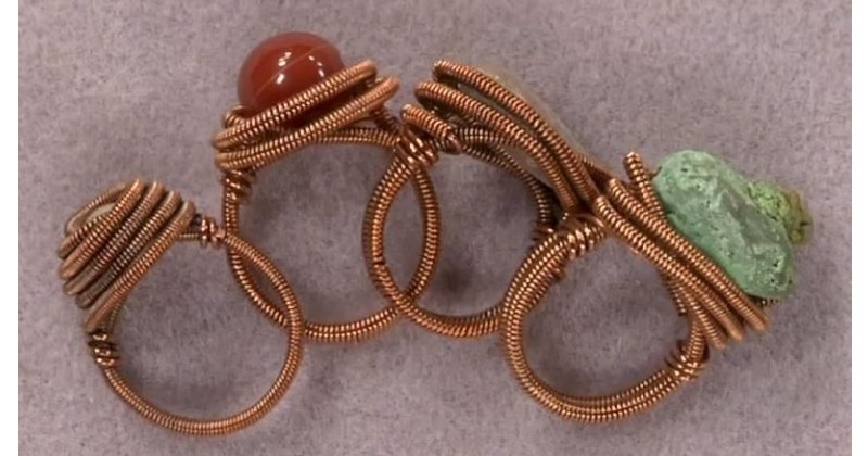 Make Wire Rings with Eva Sherman in Minutes, Perfect for Gifts and Parties