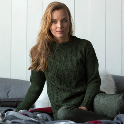 evergreen mountain pullover