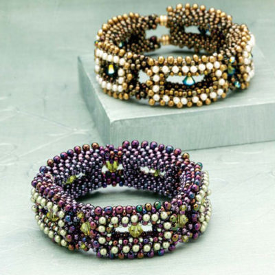 Gabi Gueck's more casual-styled Jeweled Links bracelet