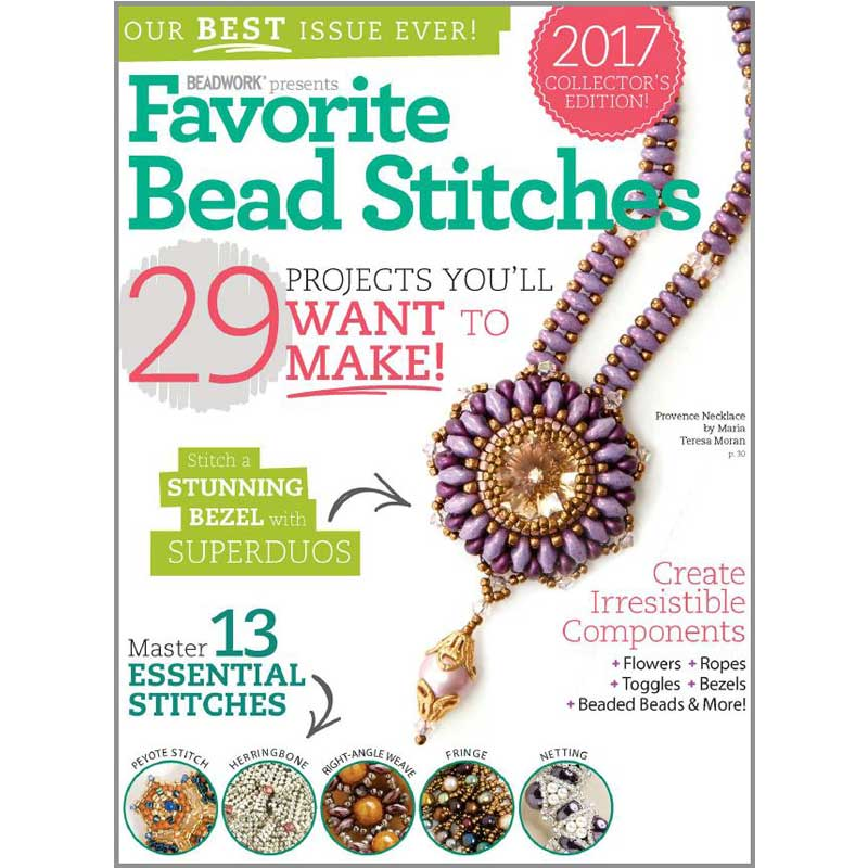 Create Stunning Jewelry With Your Favorite Bead Stitches