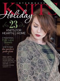 Knitting gifts is easy when you have all the gorgeous patterns in Interweave Holiday Gifts 2016!