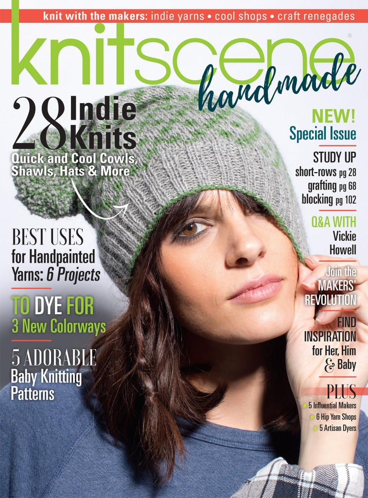 Check out our new magazine, knitscene handmade!