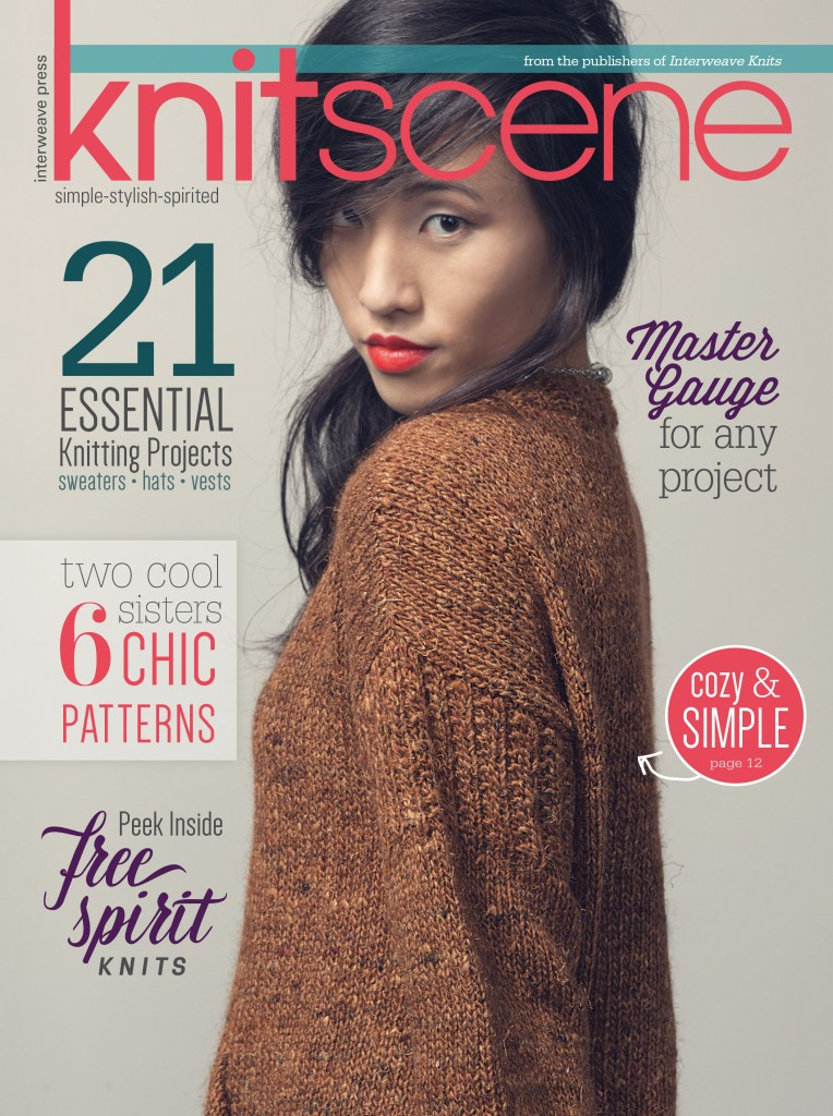 Knitscene Winter 2015 Cover