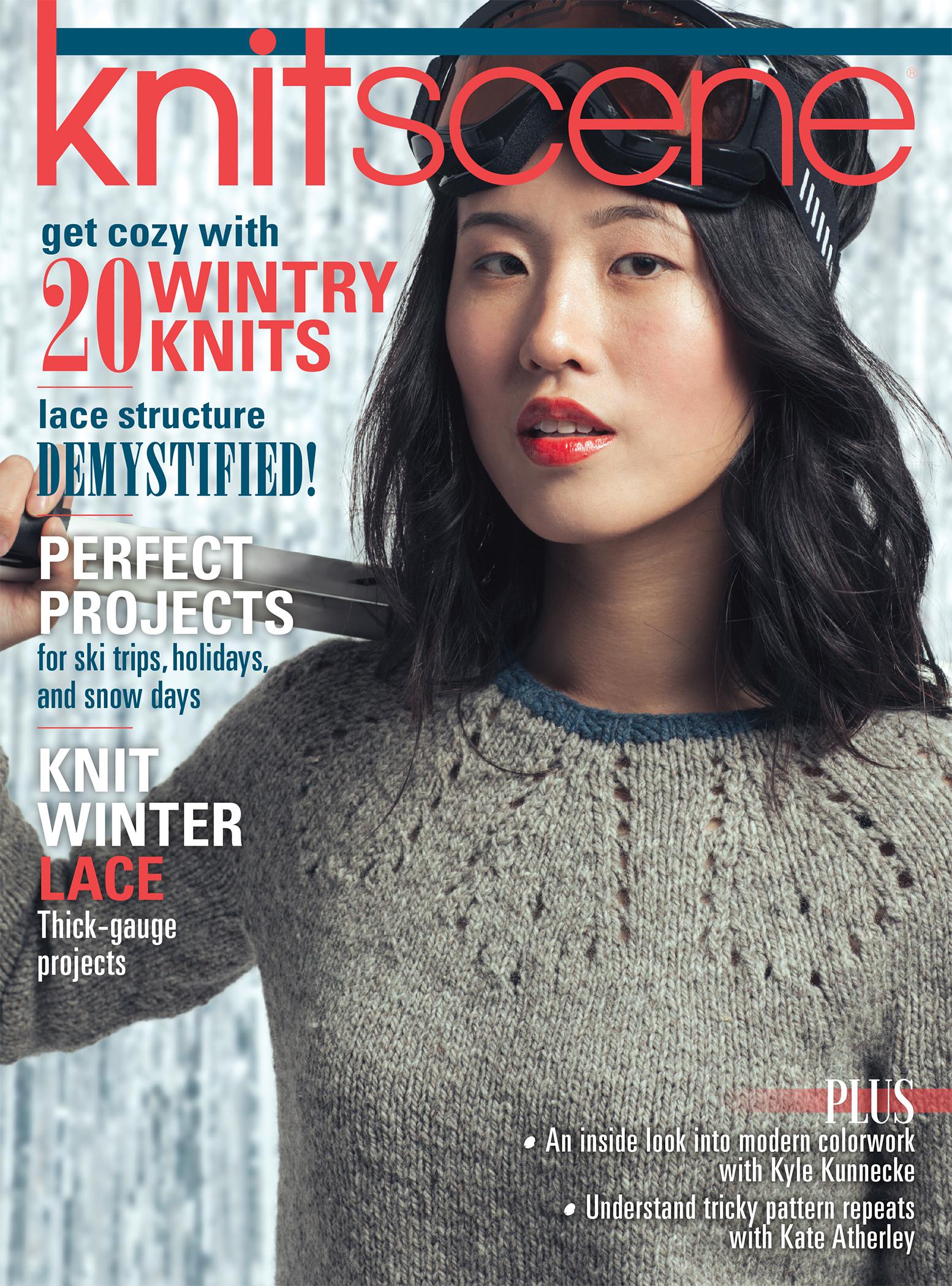 knitscene Winter 2016 cover
