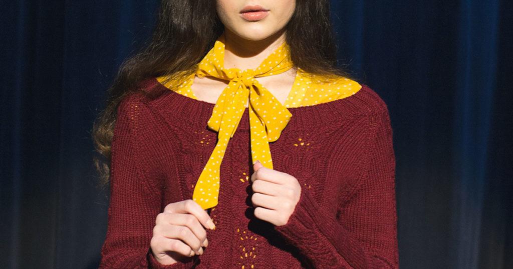 <em>knitscene</em> Fall 2018: Felicity Sweater