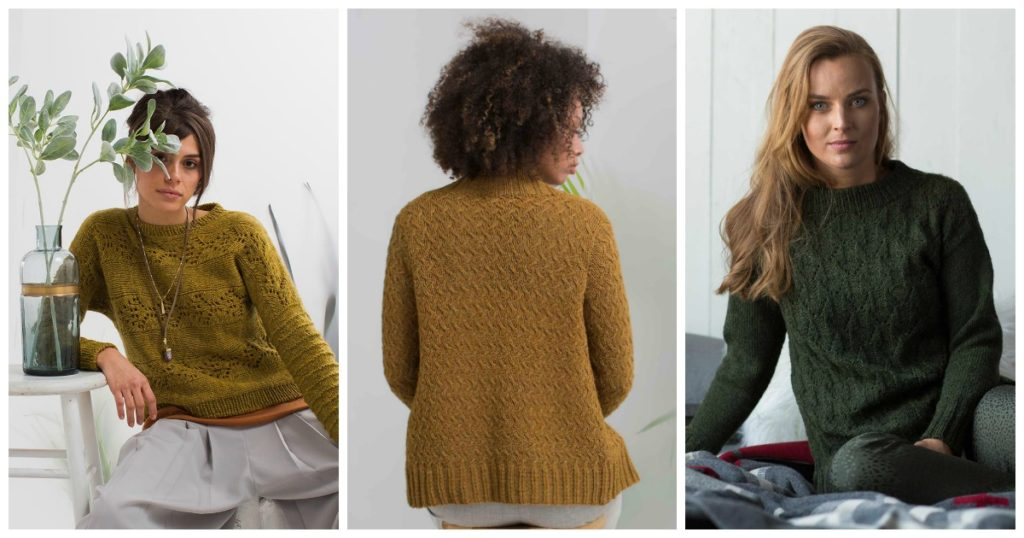 Your Favorite Interweave Spring Knitting Patterns from 2018