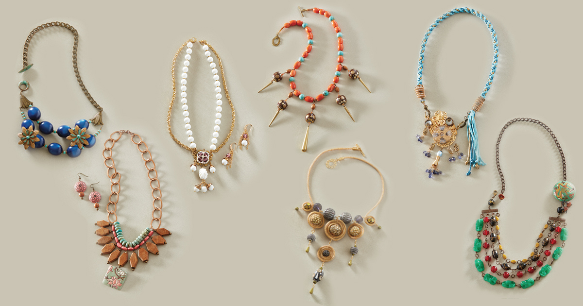 Fast & Fabulous Statement Necklaces
