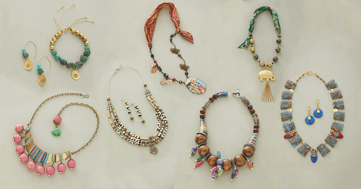 bead stringing designs around the world fast