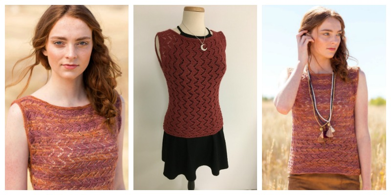 FO Friday: Andrea's Red Clay Top