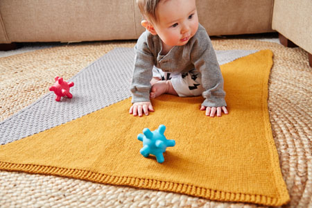 silverthorne baby blanket knitting pattern