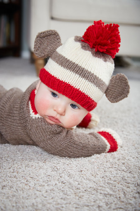 641d3df19acc Baby Knitting Patterns  Knitted Hat for Baby