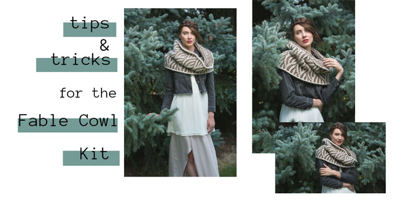 5 Tips and Tricks for the Fable Cowl Tunisian Crochet Kit
